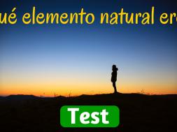 ¿Qué elemento natural eres-