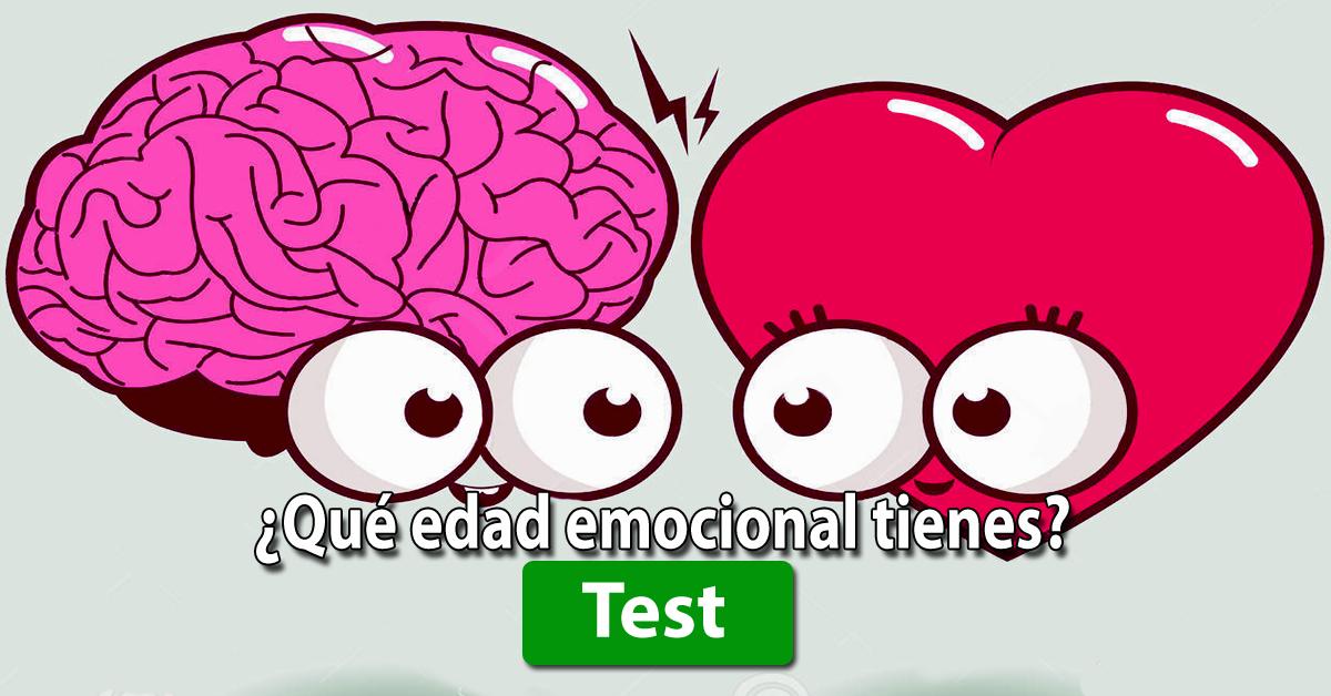 TEST DE PERSONALIDAD: ¿Cuál es tu edad emocional?